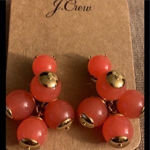 NWT J. CREW CLUSTER BALL DROP EARRINGS